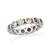 Multistone Eternity Ring