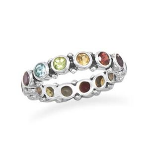 Multistone Eternity Ring