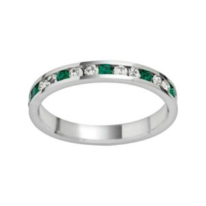 Swarovski Sterling Silver Crystal Ring